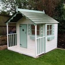 Wooden Backyard Playhouse Best 25 Wood Playhouse Ideas On Pinterest Childrens Outdoor