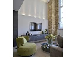 Livingroom Accessories Living Room Accessories Floating Shelves Brick Wall Led Lights