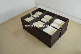 space saver table set space saving dining table and 6 chairs ohio trm furniture