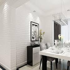 aliexpress com buy haokhome pvc vinyl white shabby brick stone