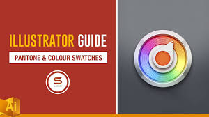 pantone colour and swatches adobe illustrator guide youtube