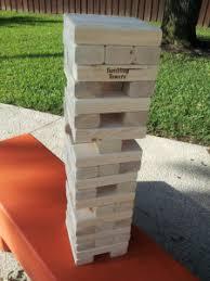 Backyard Jenga Set by Drunk Jenga Jenga Drinking Game For Regular U0026 Giant Blocks