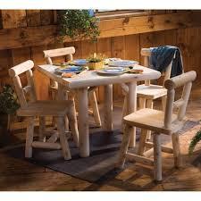 Log Dining Room Table Cabin Kitchen U0026 Dining Furniture Log Dining Table Sets