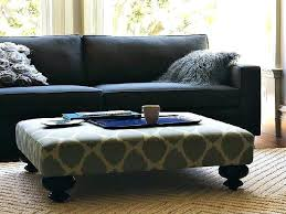 large padded coffee table cool large fabric ottoman fabric ottoman coffee table large