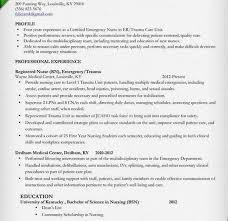 Nurse Resumes Templates Emergency Nurse Resume Download Registered Nurse Resume Examples