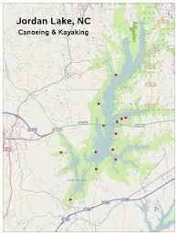 Jordan World Map by Jordan Lake Nc Canoeing U0026 Kayaking Sas Graph Map
