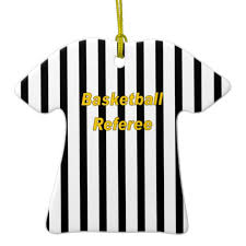 basketball referee ornament zazzle