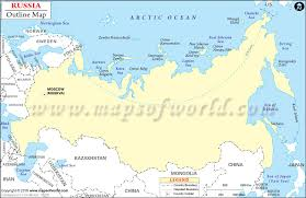 outline map of russia with cities blank map of russia russia outline map