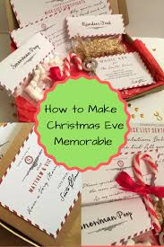 this christmas eve box contains personalized nice list