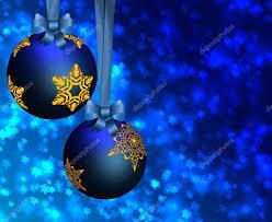 blue christmas ornaments u2014 stock photo olegmirabo 5968959