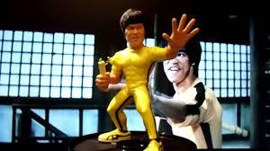 bruce yellow jumpsuit bruce yellow jumpsuit figure