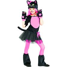 amazon com miss kitty cat kids costume clothing
