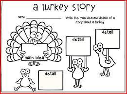 thanksgiving reading worksheets for grade