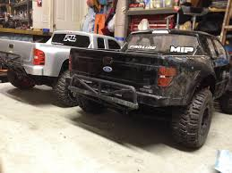 Ford Raptor Nitro Truck - proline true scale chevy silverado and raptor