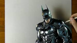 batman drawing how to draw 3d art youtube