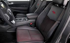 jeep durango interior 2013 vs 2014 dodge durango styling showdown truck trend