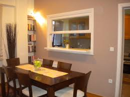 Windows To The Floor Ideas Dining Room With Window To The Kitchen