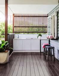 brise vue cuisine idées décoration intérieure