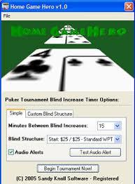 Blinds Timer Poker Timer U003e Poker Tournament Timer U003e Free Poker Blinds Countdown
