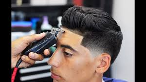 haircut tutorial sean o u0027donnell taper fade blow dry and style