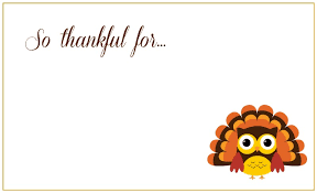 thanksgiving day cards free printable free design and templates