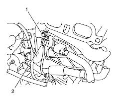 repair instructions knock sensor replacement 2009 pontiac vibe
