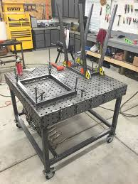 tab and slot welding table certiflat welding table from weldtables com expierences