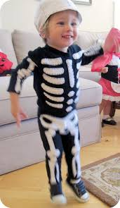 Skeleton Halloween Costume Kids Homemade By Jill Halloween Bones