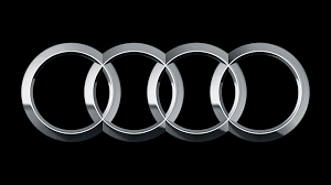 audi logo black and white audi and kms kms team
