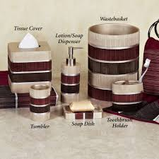 pink and brown bathroom ideas glamorous bathroom accessories sets with brown and