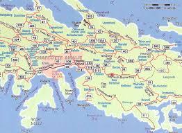 road map of st usvi st map usvi major tourist attractions maps