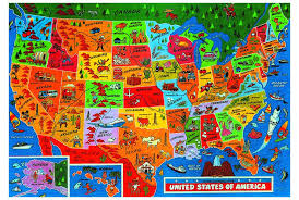usa map jigsaw puzzle usa in pictures jigsaw maps