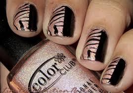 limitedaddictionnails inspired on zebra nails