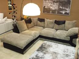 Grey Check Sofa Rio Jumbo Black U0026 Grey Corner Sofa With Matching Swivel Cuddle