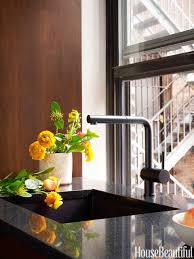 Kitchen Faucets Nyc A Warm Modern Kitchen In New York City Warm Faucets And