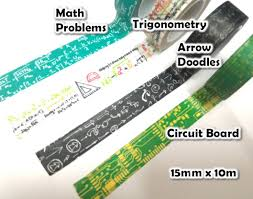 sale circuit board washi tape bee happy crafts