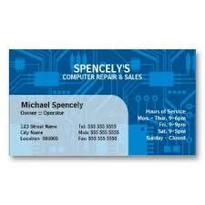 It Technician Business Card Technician Computer Business Cards Nail Technician Manicurist Red