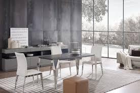 Modern White Dining Chairs Daytona Modern White Dining Chair Set Of 2