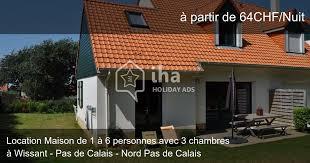 location maison nord particulier 3 chambres location maison dans un lotissement à wissant iha 61187