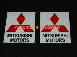 mitsubishi motors logo acromann online shop