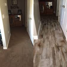 Laminate Flooring That Looks Like Tile Flooring Before And After Reveal Wood Looking Tile 365 Days Of