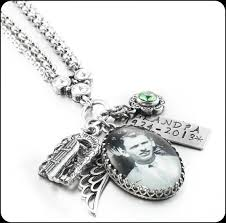 memory necklace personalized photo necklace custom photo jewelry