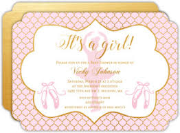 pink and gold baby shower invitations cheap girl baby shower invitations invite shop