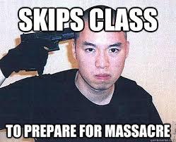 Rebellious Asian Meme - skips class to prepare for massacre original rebellious asian