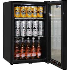 glass front mini fridge glass door mini fridge bar glass door