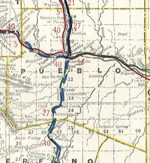 Map Of Colorado Towns pueblo county resources