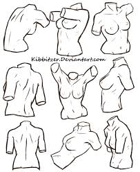 Female Body Anatomy Drawing 85 Best Des Tronco Images On Pinterest Anatomy Reference