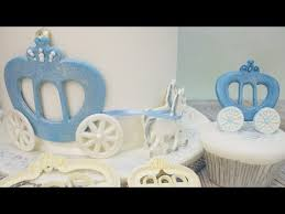 cinderella carriage cake topper how to make a princess carriage cake decoration using the fmm