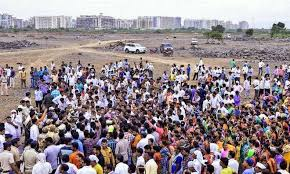Resume The Work Navi Mumbai Airport Work To Resume After World Cup The Hindu
