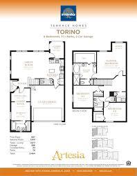 Minto Homes Floor Plans Artesia Mnm Companies